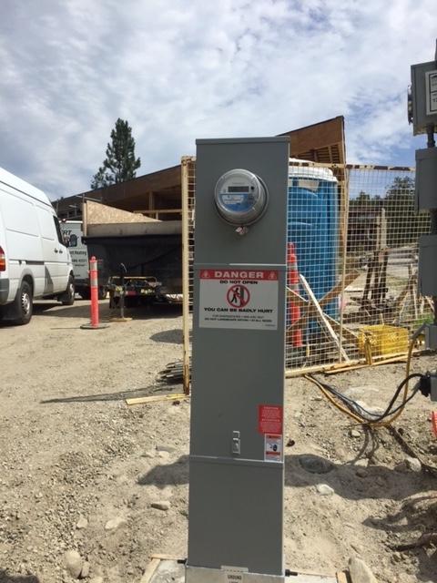 Underground Services & Meter Pedestals | Okanagan Electrician - Pilot Electric