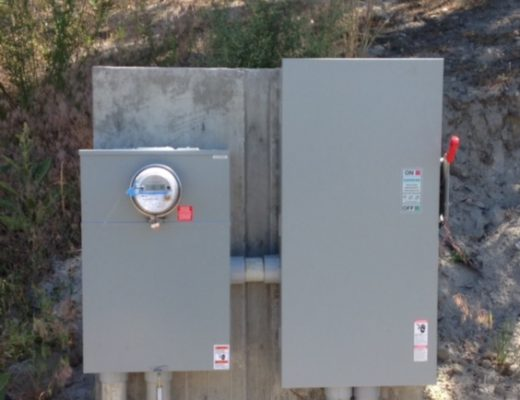 Underground Electrical Services & Meter Pedestals | Okanagan Electrician - Pilot Electric